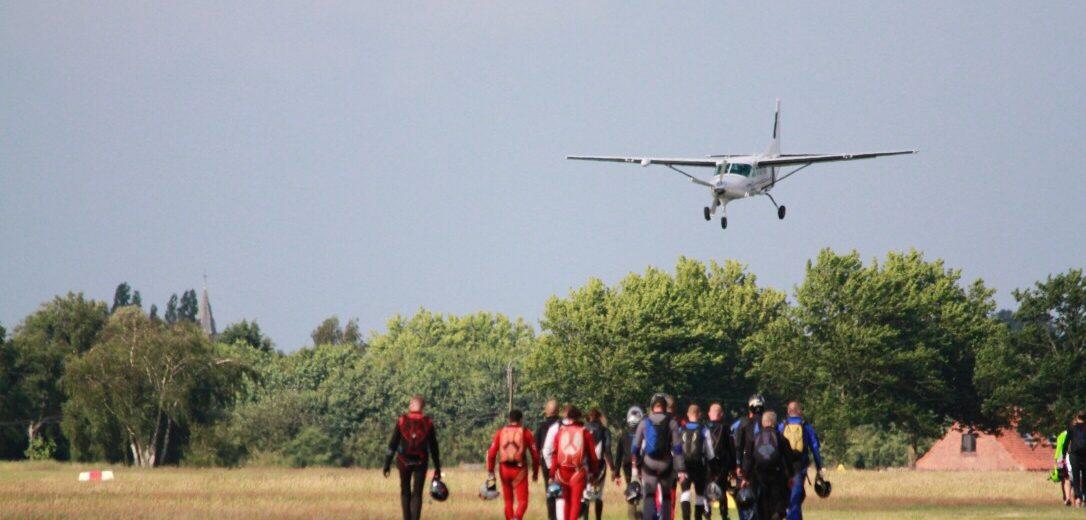transfer by aeroplane